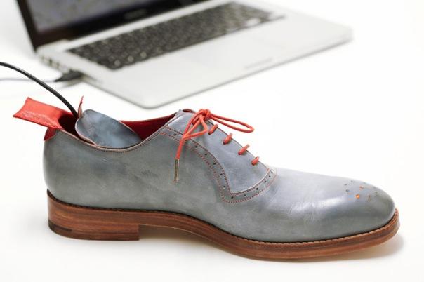Обувки с GPS 1