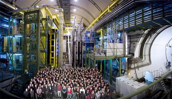 Детекторът LHCb. Снимка: CERN