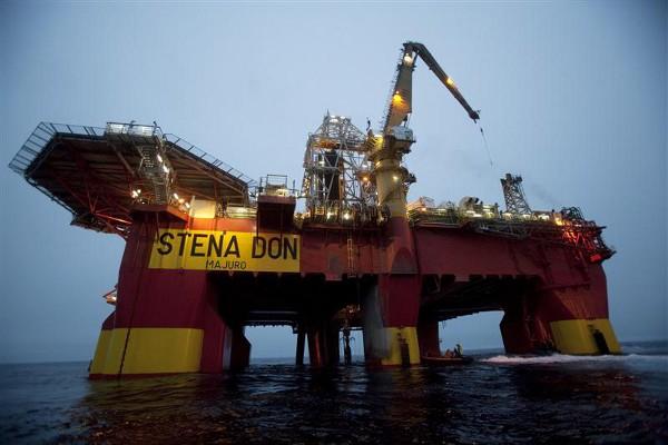През 2010 г. компанията Cairn Energy започна проучвателни сондажи край западния бряг на Гренландия.© Will Rose / Greenpeace