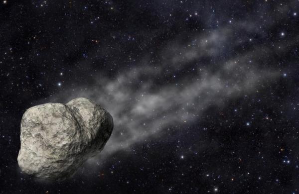 Астероидът P/2012 F5 е получил опашка в резултат на някакви необичайни събития през лятото на 2011 г. © SINC