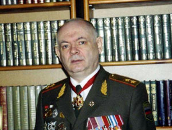 Генерал Алексей Савин. Снимка от личния му сайт www.generalsavin.ru