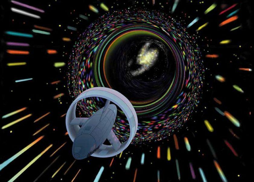 Уарп двигател теоретично може да ни отведе до Алфа Центавър за броени седмици.© NASA
