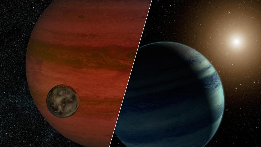 За всеки случай художникът е изобразил и двата варианта.© NASA/JPL-Caltech
