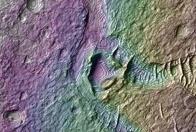 © Antoine Lucas / NASA / JPL / Univ. Arizona
