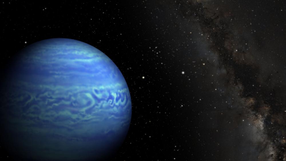 Изображение на най-студеното кафяво джудже WISE J085510.83-071442.5. Кафявите джуджета са бледи, подобни на звезди обекти, които нямат необходимата маса за изгаряне на ядреното гориво.© Penn State University/NASA/JPL-Caltech