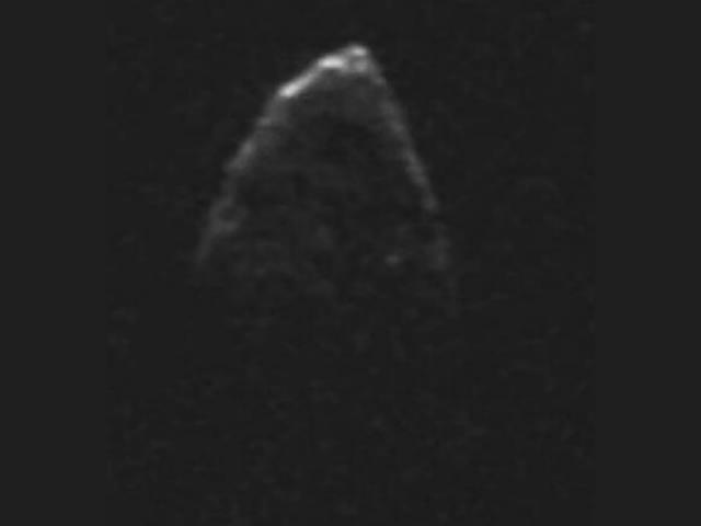 Астероидът 1950 DA, изследван от учените. © NASA