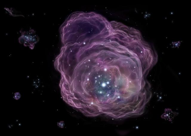 Илюстрация на един от първите взривове във Вселената.© NAOJ