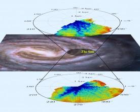Нова карта на Млечния път ще решава стара загадка