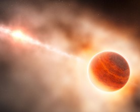 Близо до Слънчевата система се ражда планета