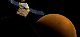 Сондата MAVEN влезе на орбита около Марс
