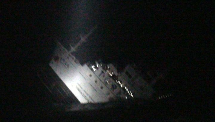 Кадър от видео на бреговата охрана на Тайван.