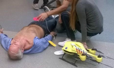 Безпилотна линейка ще спасява живота на нуждаещи се