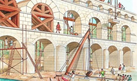 Водата погубила Рим
