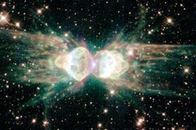 """Телескопът """"Хъбъл"""" открил Божията Обител – гигантска структура, плаваща в космическите простори и сияеща с неземна светлина.YouTube"""