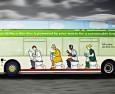 """Британският """"клекбус"""" тръгва на първи рейс (ВИДЕО)"""