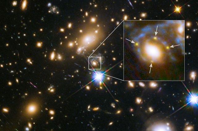 © NASA/ ESA, FrontierSN and GLASS
