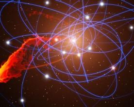 В центъра на Млечния път всичко е спокойно…