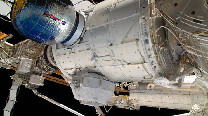 Модулът ВЕАМ ще бъде скачен към МКС и ще бъде тестван за безопасност.©Bigelow Aerospace