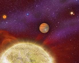 Четири слънца огряват далечна планета