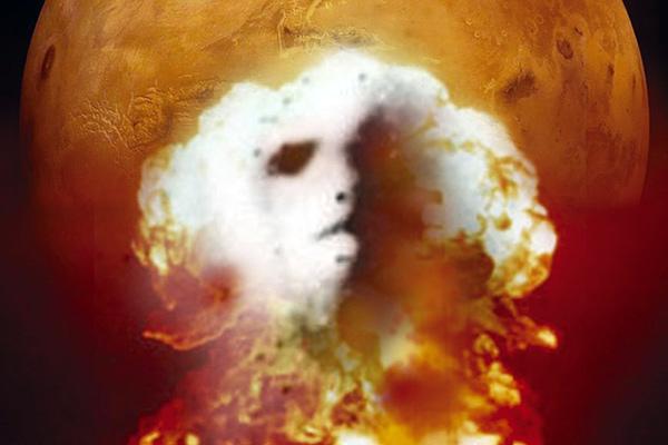 Част от обложката на книгата Life and Death on Mars: The New Mars Synthesis.
