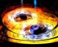 """Черните дупки правят """"салто"""", когато се сливат"""