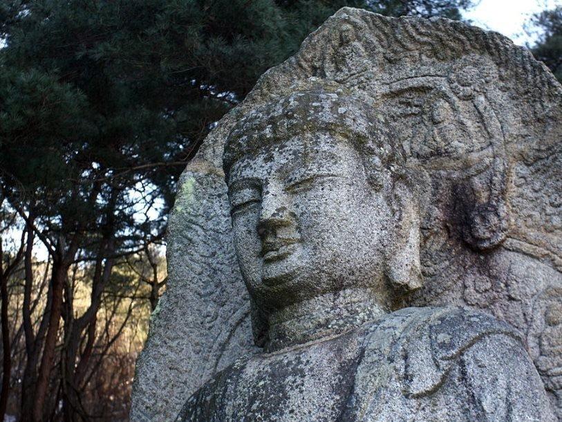 Статуя на Буда в Гьонджу.© Wikimedia Commons