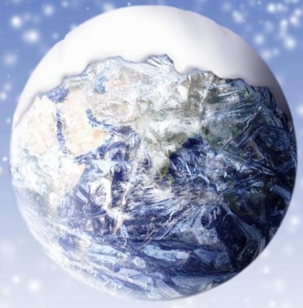 Земя снежинка