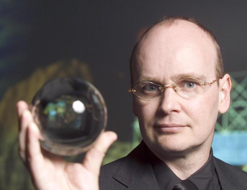 Известният футуролог Иън Пиърсън.© Futurizon