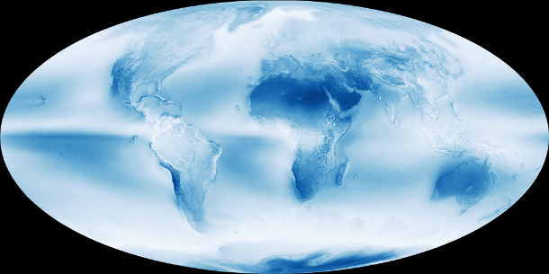 © NASA Earth Observatory imageby Jesse Allen and Kevin Ward, using data provided by the MODIS Atmosphere Science Team, NASA Goddard Space Flight Center