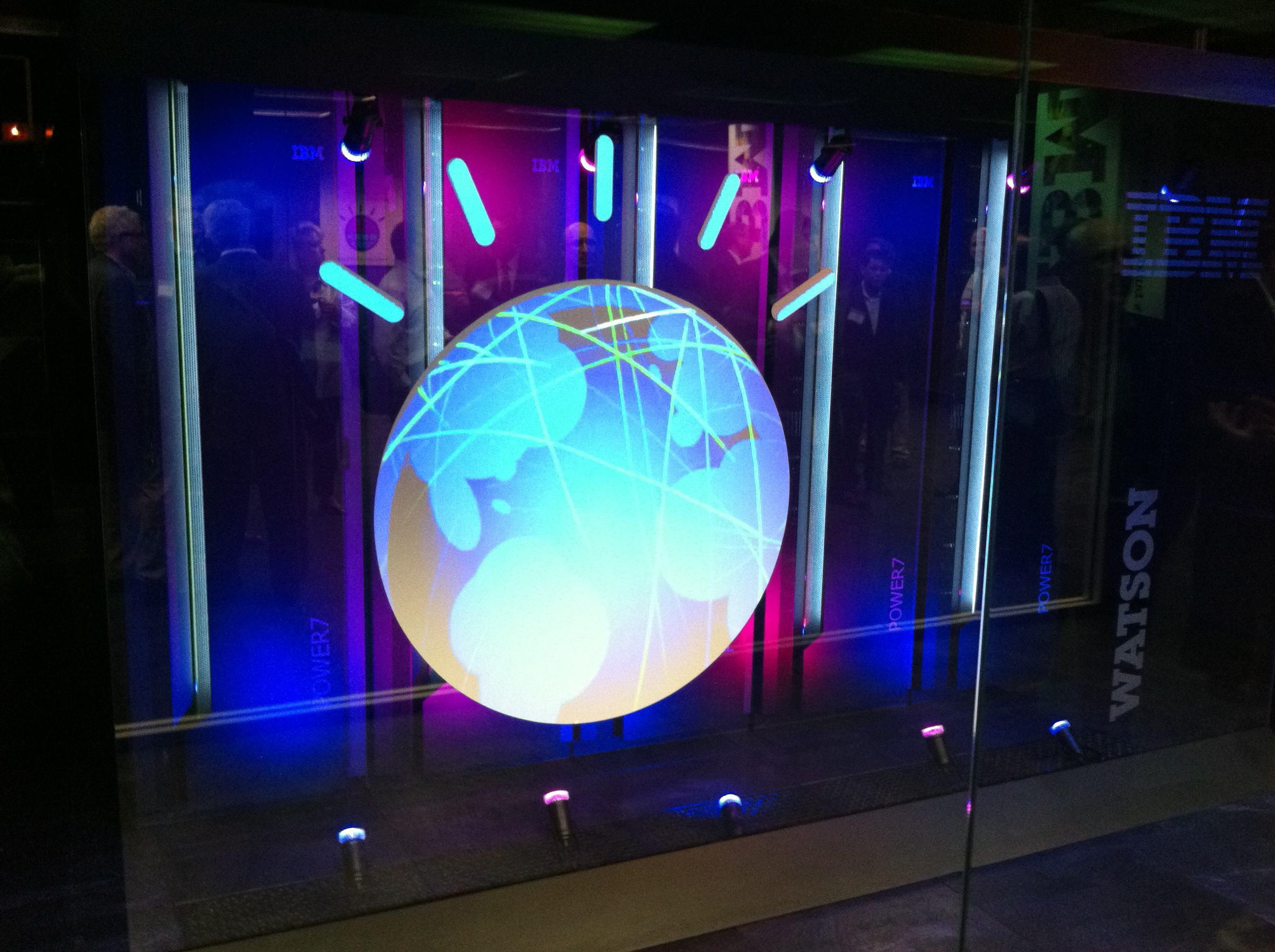 Суперкомпютърът Уотсън. ©IBM