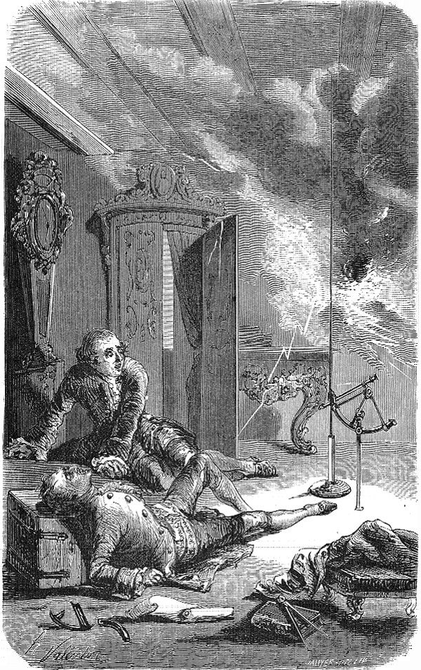 Смъртта на Георг Рихман. Wikipedia