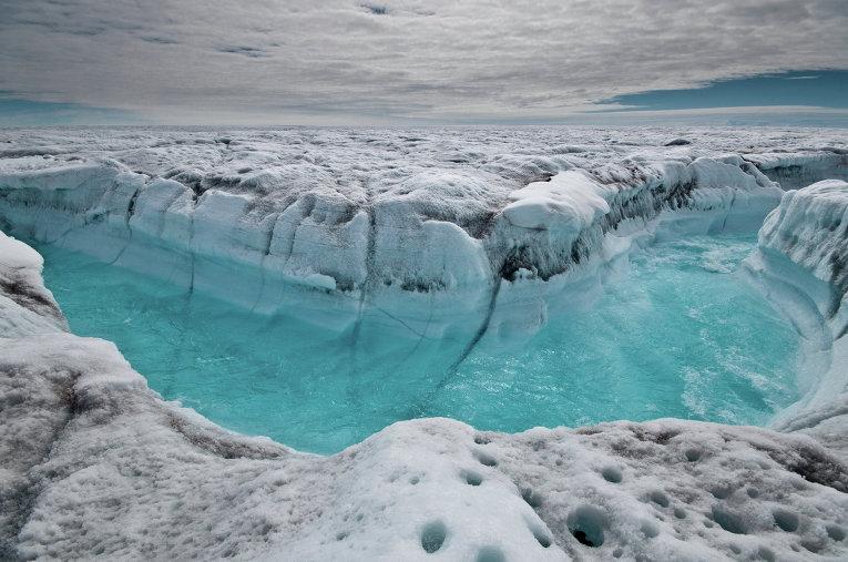 Арктика, глобално затопляне