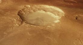 марсиански кратер