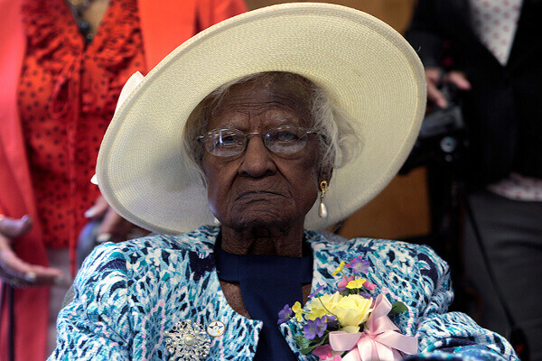Джералин Тали починала на 17 юни 2015 г. на възраст 116 г.