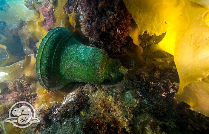 "Корабната камбана на ""Еребус""."