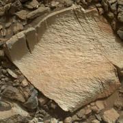 Камък с високо съдържание на силиций на снимка от камерата MAHLI на Curiosity. © NASA/JPL-Caltech/MSSS