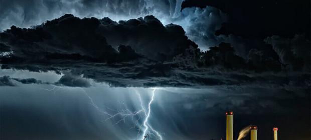 Буря над Колорадо Спрингс.