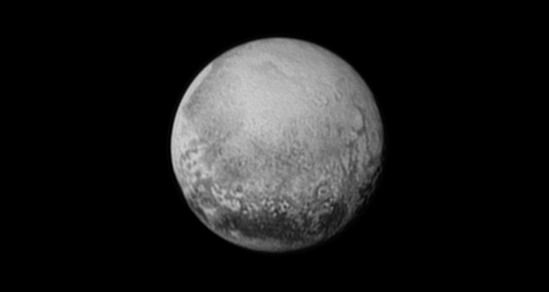 "Плутон, какъвто го видя ""Нови хоризонти"" на 11 юли 2015 г. © NASA/JHUAPL/SWRI"