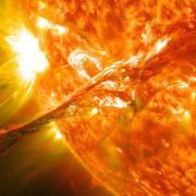 Коронално изхвърляне на маса. © NASA Goddard Space Flight Center