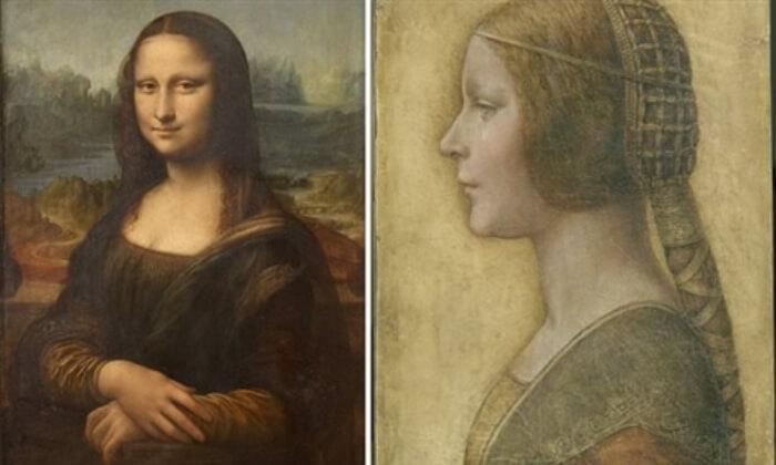 Портретите с оптичната илюзия на изплъзващата се усмивка.