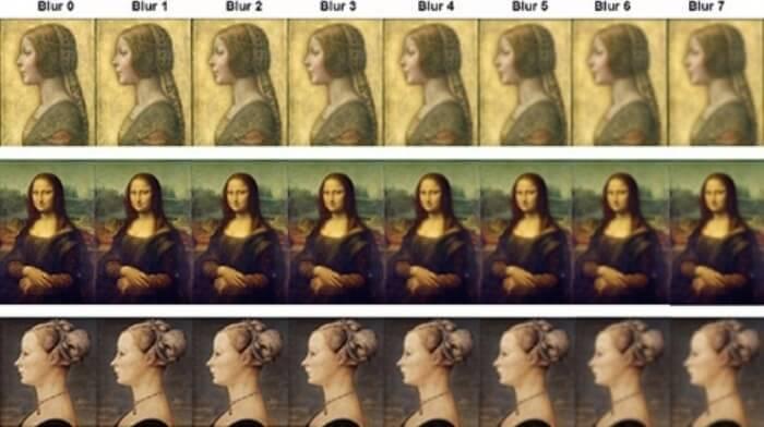 Картините на Да Винчи и Полайоло.