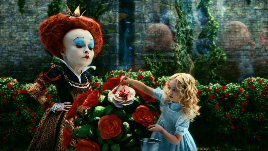 Алиса в страната на чудесата, Тим Бъртън