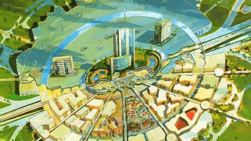 EPCOT градът на Дисни