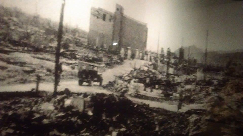 Хирошима след бомбардировката. © Яна Михайлова, Мегавселена