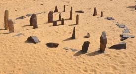 Реконструкция на каменния календар. © Aswan Nubia museum