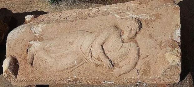 1800-годишният древноримски саркофаг. © Yoli Shwartz / Israel Antiquities Authority