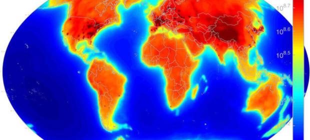 AGM2015: Antineutrino Global Map 2015