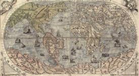 древна карта на света