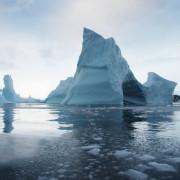 Антарктическият ледник Ларсена още това лято може да се превърне в купчина айсберги. © NSIDC/Ted Scambos