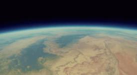 Гранд каньон от стратосферата. Bryan Chan/YouTube